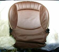 NICE MINI COOPER R55 R57 RIGHT FRONT SEAT HOT CHOCOLATE LEATHER COVER & CUSHION