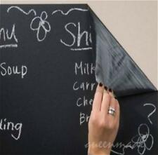 DIY Chalkboard Wall Stickers Removable Blackboard Decals Great Gift for Kids Q
