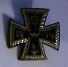 GERMAN - Patriotic, Iron Cross Badge. 1914.
