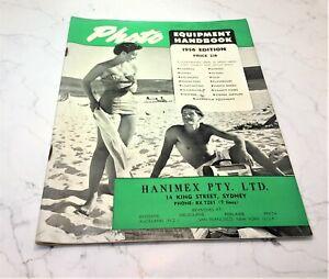 PHOTO EQUIPMENT HANDBOOK - 1956 EDITION