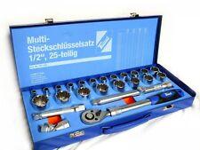 """Multi-Steckschlüsselsatz ½"""" für Zoll und Metrich"""