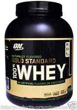 NEW OPTIMUM NUTRITION 100% WHEY GOLD STANDARD NATURALLY FLAVORED 4.8 lbs 2.18kg