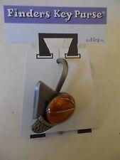 """Free Throw"" Basket Ball Key Chain-Finders Key Purse by Alexx, Inc. Metal"