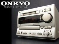 ONKYO FR-V5 CD  MD tuner amplifier Japan F/S