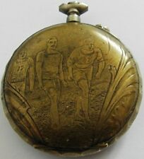 "Very Rare ""Sisteme Roskopf Patent"" Pocket Watch For Restoration"