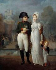 Napoleon I & Marie Louise of Austria & King of Rome in Tuileries 6x5 Inch Print