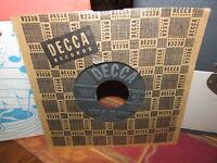 BILL HALEY & His COMETS Rare 45 RPM Record MAMBO ROCK Original Decca Jan 1955