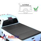 Lock Hard Tri-Fold Tonneau Cover For 14-19 Chevy Silverado GMC Sierra 6.5ft Bed