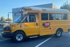 Mini School Bus - V8 Gas - Srw - 137k miles - Skoolie / Rv / Food Truck