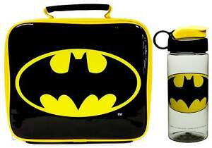 Batman Insulated Lunch Bag and Hydration Bottle (500ml) | Lunch Box | Lunchbox