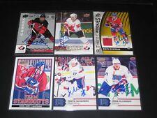NIKITA SCHERBAK autographed '17/18 Upper Deck AHL card #122 LAVAL ROCKET *new*