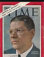 Time Magazine February 15 1963 Robert McNamara Red Auerbach Mona Lisa