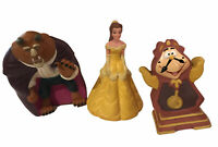 Beauty and The Beast Vinyl Figures Disney Princess Vintage 90's