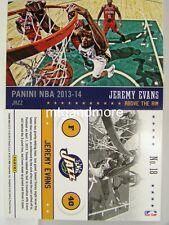 Panini NBA (adrenalyn xl) 2013/2014 - #018 Jeremy Evans-above the rim