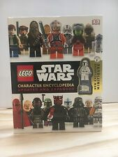 LEGO Star Wars Character Encyclopedia with white Boba Fett Minifigure