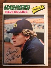 1977 Topps DAve Collins Seattle Mariners 431