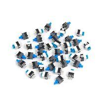 40 Pieces 7 x 7mm PCB Bouton-poussoir tactile a verrouillage automatique In K6B9