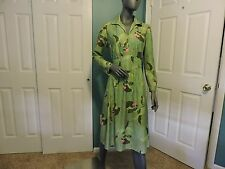 """Womens Vintage 1970's Leslie Fay """"My Latest"""" Dress Size 16 GUC"""