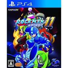 Capcom Rockman 11 SONY PS4 PLAYSTATION 4 JAPANESE VERSION