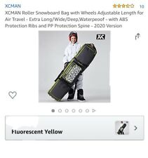 XCMAN Rolling Snowboard bag With wheels
