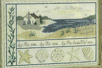 A Day At The Beach By The Sea Cross Stitch Pattern from magazine Multi projects
