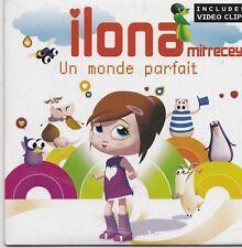 Ilona-Un Monde Parfait cd maxi single 3 tracks cardsleeve