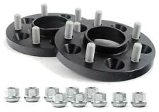 H&R BLACK Hubcentric wheel spacers 15mm per side to fit Ford Focus Mk2 ST225
