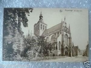 Postcard Poperinge St. Jans Kerk, Belgium