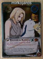 TSUNADE & KATSUYU 1st Edition [Light Play] BODN-US060 Super Rare SR Naruto