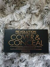 Makeup Revolution Cover and Conceal Palette Contour Highlighter Light Clair
