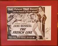JANE RUSSELL PSA DNA Coa Autograph 8x11 Litho Photo Hand Signed