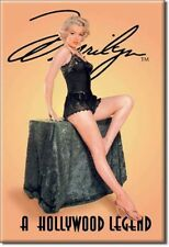 "2"" X 3"" Metal Sign Refrigerator Magnet Sexy Hollywood Legend Marilyn Monroe"