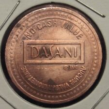 Vintage Dasani Water Vending Machine Token - Coca-Cola Company
