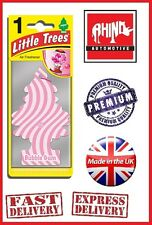 BUBBLE GUM LITTLE TREES MAGIC TREE AIR FRESHENER -CAR VAN HOME IDEAL FOR ALL X1