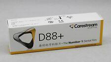 100pcs Quality Kodak Carestream #2 D88+ Dental Intraoral Periapical X-Ray Film