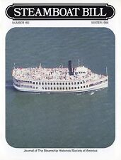 """#180 Italy's 1965 Superliners-""""Steamboat Bill"""" winter 1986-SSHSA mAiLs WORLDWIDE"""
