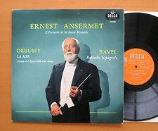 LXT 5424 Debussy La Mer Ravel Rapsodie Espagnole Ansermet 1958 Decca EXCELLENT