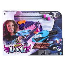 Nerf Rebelle Courage Crossbow Blaster Soft Foam Dart Kids Shooting Game Gun Toy