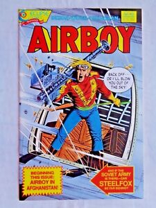Airboy No. 40 June 1988 Eclipse Comics  Dixon & Woch First Printing NM (9.4)