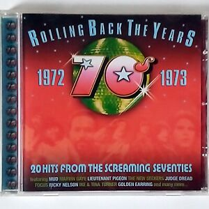 Rolling Back the Years 1972-1973 (CD Album, 2004 Prism) 20 Tracks