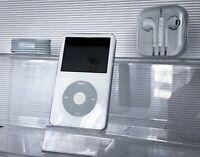 NEW! Apple iPod Video 5.5th Gen 30GB WHITE/SILVER Wolfson DAC 1 YEAR WARRANTY