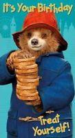 Paddington Bear  Birthday Card