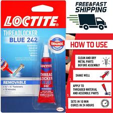 Loctite Heavy Duty Threadlocker 0.2 oz Blue 242 Medium strength