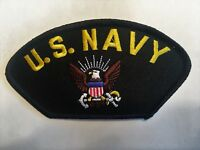 US Navy American Eagle Anchor Hat Patch Military Cap Patch