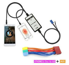 For A2 A3 A4 A6 A8 TT 8pin 3.5MM iPhone 5 car MP3 Interface Aux-In adapter New