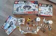 Lego Star Wars 7749 Echo Base 7666 Hoth Rebel Base Limited Edition OVP starwars