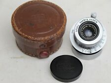 Nikon Nikkor Nippon Kogaku Tokyo Leica LTM 35mm f:3.5 early serial # lens caps