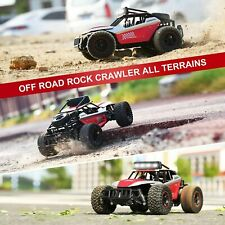1:14 Scale 2WD DEERC DE43 RC Car High Speed RC Monster Truck 2 Akkus Spielzeug