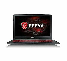 MSI Gl62M 7REX 15.6-inch Laptop Black - Intel Core i7-7700hq 2.8 GHz Processor