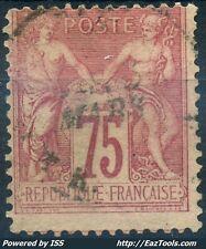 FRANCE SAGE N° 81 AVEC OBLITERATION COTE 150€ A VOIR
